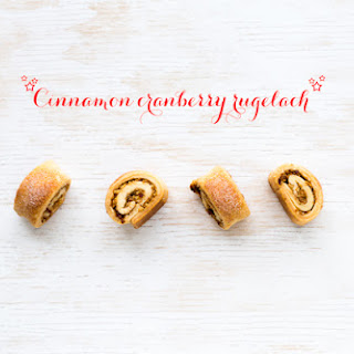 Cinnamon Cranberry Rugelach