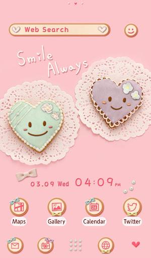 Cute Theme-Heart Cookies- 1.0.0 Windows u7528 5