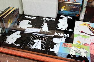 Photo: Muminrazposajeno je (bilo) tudi v Hiši sanjajočih knjig na Trubarjevi, kjer je zaživel pravi Mumindol.