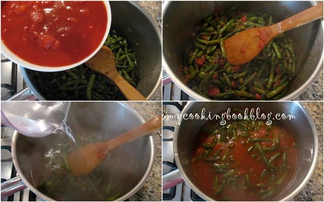 Зелен (пресен) боб черно око с домати