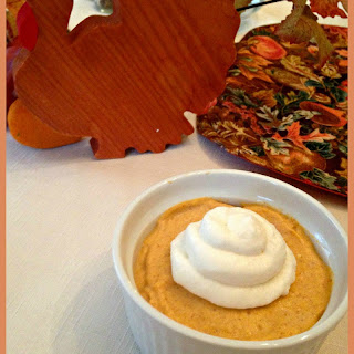 Pumpkin Cheesecake Mousse