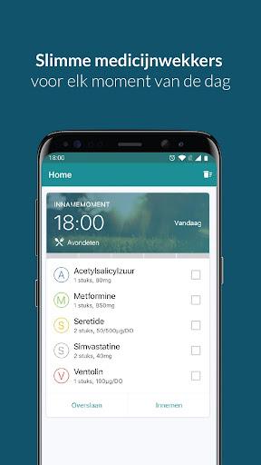 Medicijn wekker & pil herinnering & voorraad alarm screenshot for Android