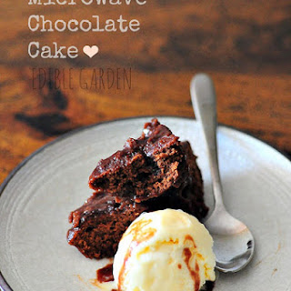Microwave Chocolate Cake Recipe in 7 Minutes (Eggless Options Included)