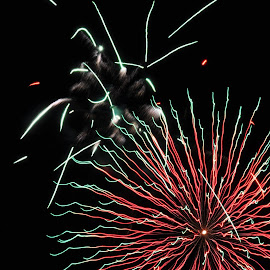 contrast by Savannah Eubanks - Abstract Fire & Fireworks (  )
