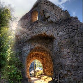 Oybin castle by Jana Vondráčková - Buildings & Architecture Public & Historical