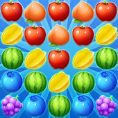 Farm Fruit Pop Party - Match 3 game