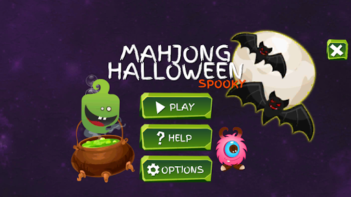 Mahjong Spooky - Monster & Halloween Tiles👻💀😈 3.2.8 screenshots 1
