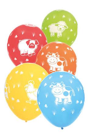 Ballonger, Gårdens Djur 6 st