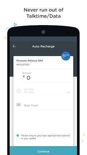Recharge, Bills, Wallet, Bus screenshot 5