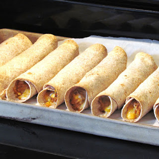 Slow Cooker Chicken and Cheese Taquitos {Freezer Meal} Recipe