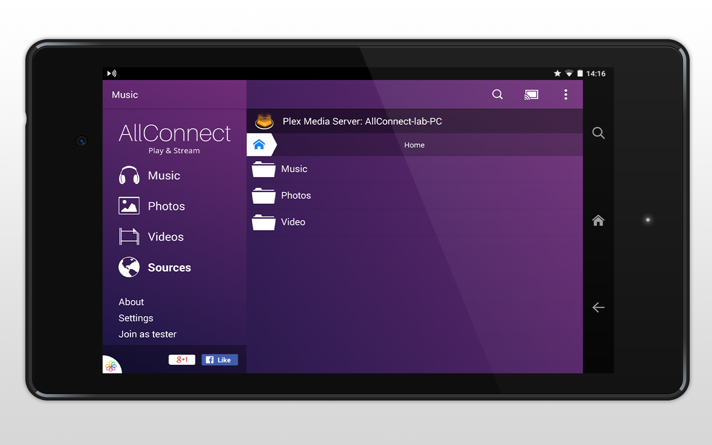 AllConnect - Play & Stream - screenshot