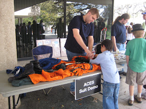 Photo: ACES Demo (Advanced Crew Escape Suit)