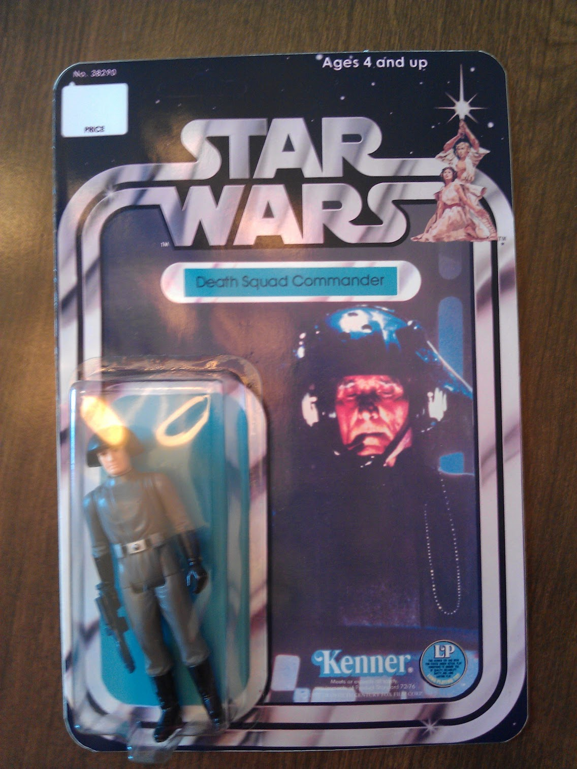 Star Wars Action FIgure - Death Squad Commander FAKE RECARD