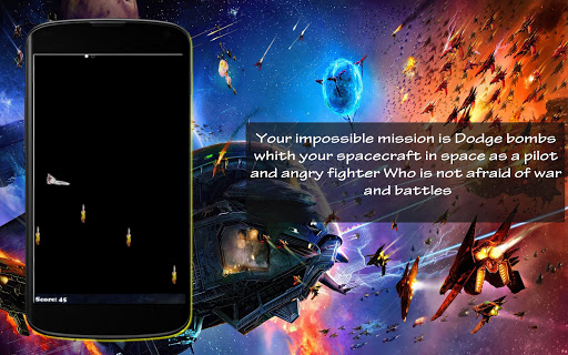 Free Space Mission Dodge Wars