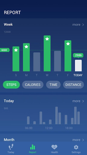 Step Counter - Pedometer Free & Calorie Counter screenshot 6
