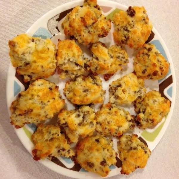 Easy Sausage Cheese Biscuits Recipe