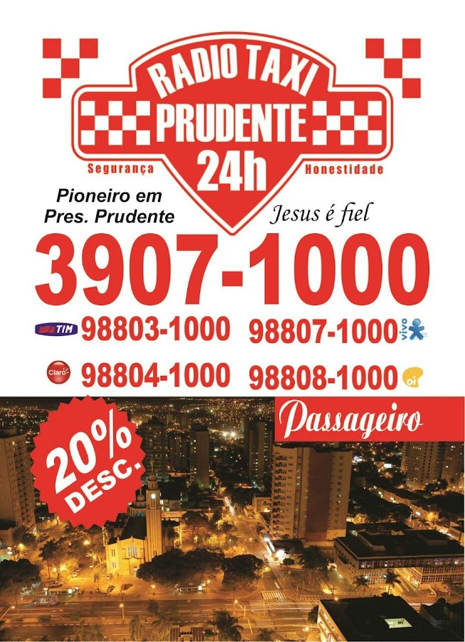 Radio Taxi Presidente Prudente- screenshot