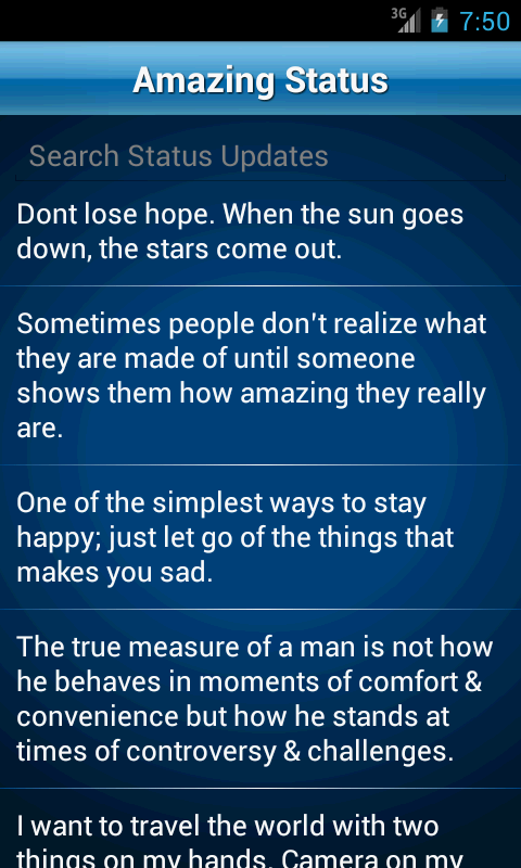 Quotes Collection New 50000 Status Quotes Collection  Android Apps On Google Play