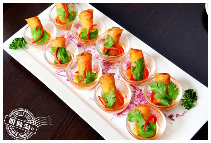 阿杜皇家泰式料理菜單泰式香蘇春捲