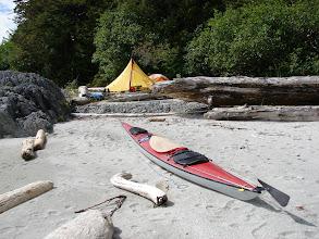 Photo: My Campsite at Cape Fox.
