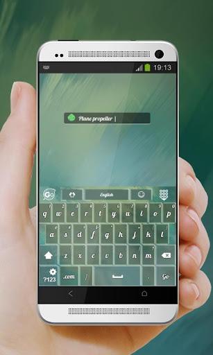 玩個人化App|飞机螺旋桨 GO Keyboard免費|APP試玩