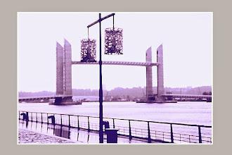 Photo: Pont levant... levé