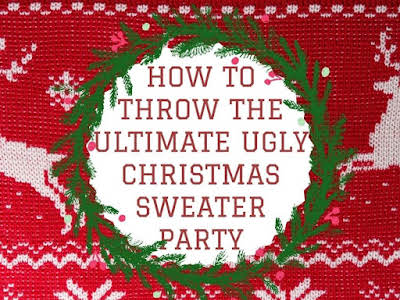 how to throw the ultimate ugly christmas sweater party just a pinch