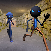 Stickman Escape : Warrior's Adventure