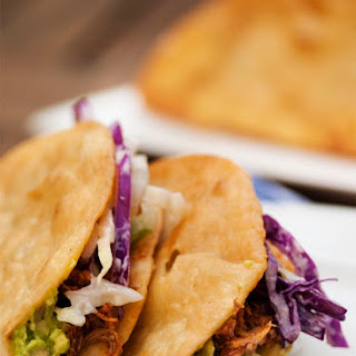 Beer Braised Pulled Chicken Tacos