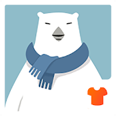 3D Theme - Polar Bear 3D Wallpaper & Icon