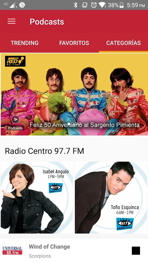 Grupo Radio Centro- screenshot