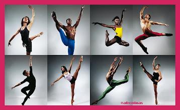 Photo: Ballet Black mural hecho por aFrONiNAs Entrevista y fotos originales en: http://goo.gl/aEjEF