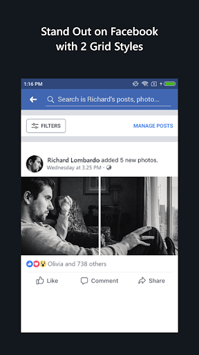 Grido for Facebook 1.5 screenshots 5