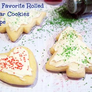Our Favorite Rolled Sugar Cookies