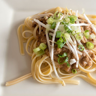 Spicy Sichuan Noodles with Pork