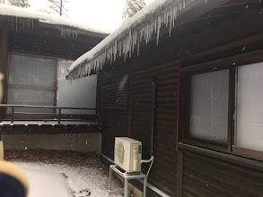 Photo: 氷柱がたくさん!!