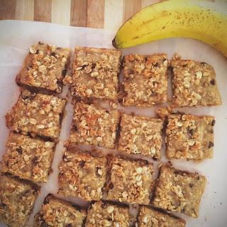 Gluten-Free Coconut Banana Bars.
