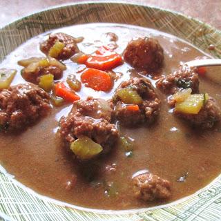 Slow Cooker Meatball Stew