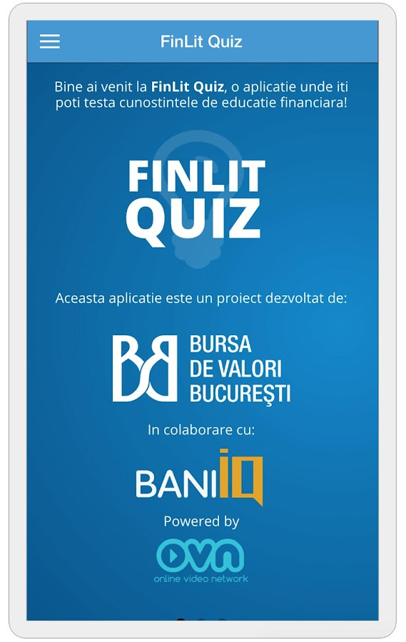 FinLit Quiz- screenshot
