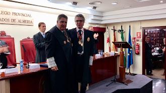 José Pascual Pozo entrega el testigo a Juan Luis de Aynat