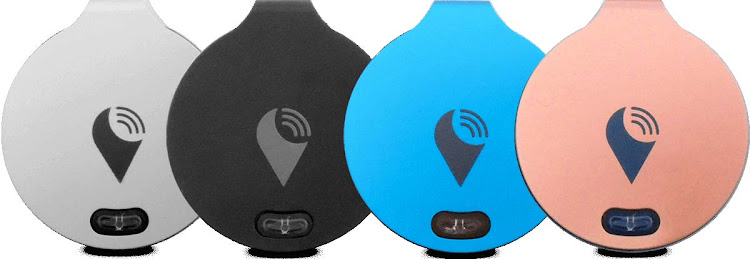 Affix one of these small, smart devices from TrackR to your items to keep track of their location.