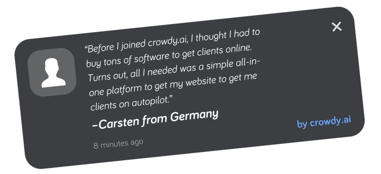 crowdy.ai lead generation quote