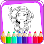 Kids me coloring book game APK icon