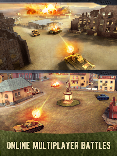 War Machines: Free Multiplayer Tank Shooting Games Screenshot