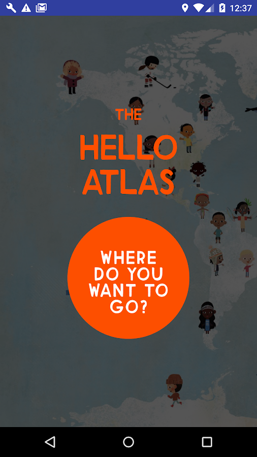 The Hello Atlas- screenshot