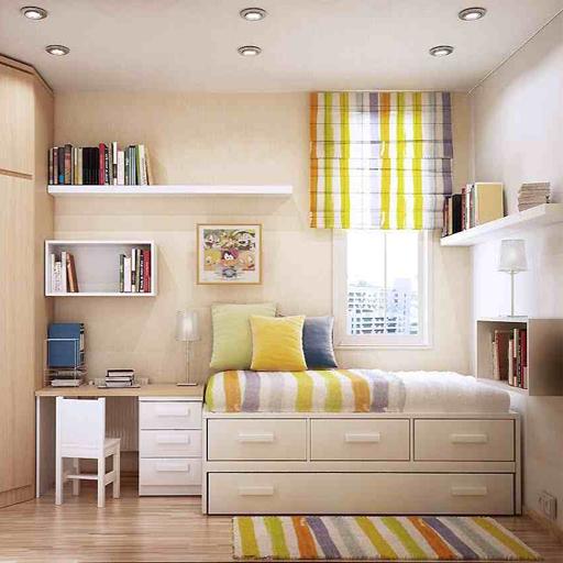 استغلال مساحات غرف النوم