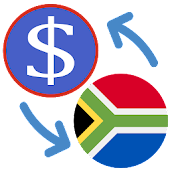 US Dollar South African Rand USD to ZAR Converter