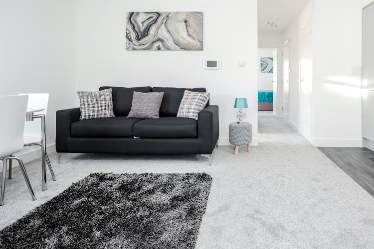 living space at Elthorne Luxury Apartments - Uxbridge
