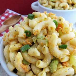 Hawaiian Style Macaroni Salad.