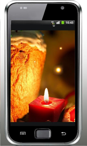 Easter Candles live wallpaper